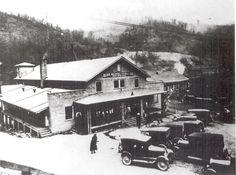 Blue Diamond Coal Company Commissary in Bonny Blue.
