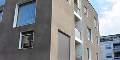 K5 grau mit verputzter Fassade - Fassadensysteme, Wärmedämmsysteme, hinterlüftete Fassade, Natursteinfassade