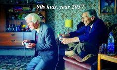 90年代の子供が老人になると01