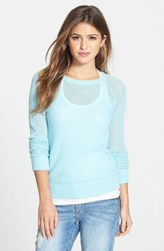 Halogen® Open Stitch Cashmere Sweater available at #Nordstrom 98$