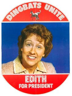 Edith Bunker (Jean Stapleton)~1970's television series ' All in the Family. Description from pinterest.com. I searched for this on bing.com/images