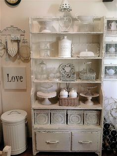 shabbykitchen, interior, kitchen, love et shabby