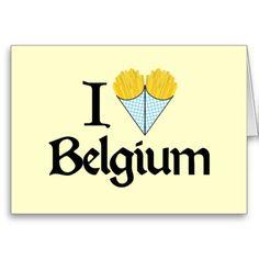 J'aime la Belgique Carte