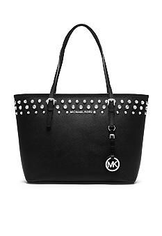 66293237803ca1 MICHAEL Michael Kors Jet Set Travel Small Jeweled Tote New Handbags,  Handbags Michael Kors,