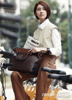 Lee Yo Won - Marie Claire Magazine November Issue '13