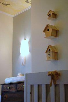 Bird houses in nursery