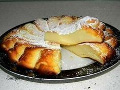Baked ricotta cake - Torta di ricotta al forno Italian Desserts, Easy Desserts, Italian Recipes, Sweet Recipes, Cake Recipes, Dessert Recipes, My Favorite Food, Favorite Recipes, Creative Food