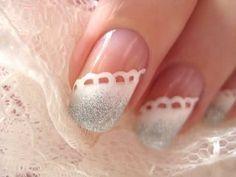 nail art - matrimonio - elegantissima per il giorno più bello!