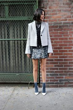 Three Ways to Wear a Mini Skirt This Fall - Man Repeller