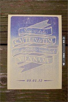 Kraft Paper Wedding Invitations | VIA #WEDDINGPINS.NET