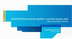 Intel and McAfee Working Together to Protect Smart Grids