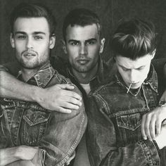 Douglas Booth, Theo James, & George MacKay oh my oh my two of my favorite mans to die for !