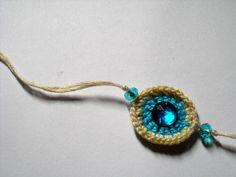 Crochet Rakhi..