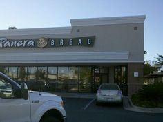 Panera Bread, to locations in Mobile, One on   Schillingers by Target, one on the corner of Airport and Montlimar.  Great soups and sandwiches, sweet treats and fabulous coffee!