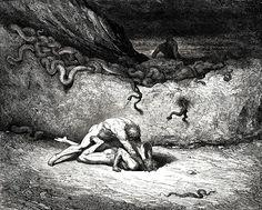 """Dante's Inferno"" by Gustave Dore"
