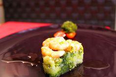 Tortino di Broccoli e Gamberi