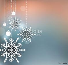 Vektor: Abstract Christmas Background