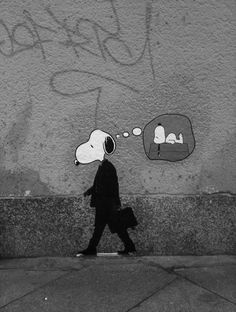 genius Snoopy #street art