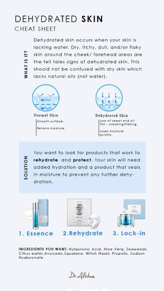 Looks awfully familiar right? Well dehydrated skin is not too different from sensitive skin except the skin often flakes off or cracks! Read about how to fix it! Moisturizer For Oily Skin, Oily Skin Care, Anti Aging Skin Care, Natural Skin Care, Natural Beauty, Dry Skin, Best Skin Care Regimen, Skin Care Tips, Skin Tips