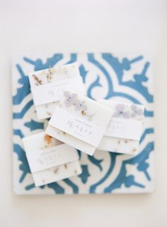 Lavender soap favors: http://www.stylemepretty.com/2016/07/01/how-to-bring-the-beauty-of-provence-to-your-wedding-day/   Photography: ARTIESE Studios - http://artiesestudios.com/