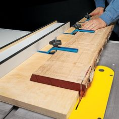 Straight Edges for Rough Lumber | Woodsmith Tips