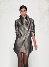 Mercedes-Benz Fashion Week : Fall 2013...love this jacket by Czar by Cesar Galindo
