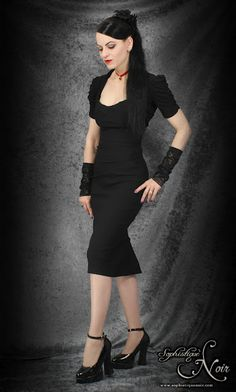 dark fashion for the corporate #Goth