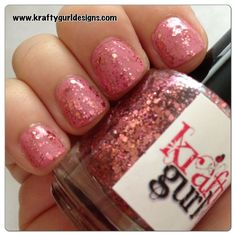 Nail art for short nails -Diamond Rose