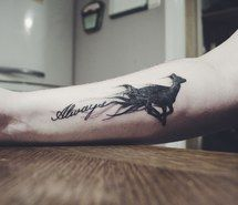 not the word, just the doe - Inspiring image always, doe, harry potter, patronus, severus snape, tattoo, First Set on Favimcom #2487869 by Maria_D - Resolution 1280x848px - Find the image to your taste
