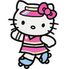 dbfb3b49e hello kitty embroidery designs   Hello Kitty Skating 1 machine embroidery  design Janome Embroidery Machine,