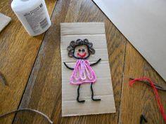 Scrap Yarn Art
