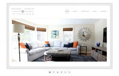 dstripe - Nicole Carlin Wordpress Portfolio Interior Designer
