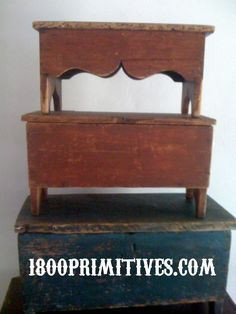 1800primitives.com postcards Early American Antiques