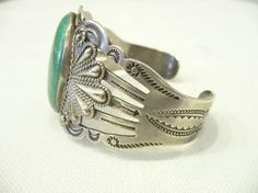 vintage turquoise cuff.