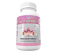 Anti Anxiety - Stress Relief Formula - Stay Relaxed, Calm, Positive - Powerful Mood