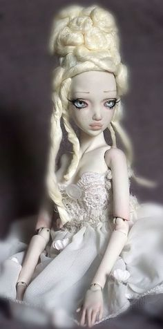 porcelain ball jointed doll by aidamaris roman