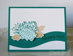 Marybeth's time for paper: Papertrey Ink MIM card (Mum's the Word Thank You card)