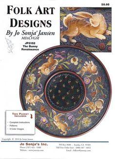 Jo Sonja Jansen | jp3152 pattern packets the bunny renaissance artist jo sonja jansen