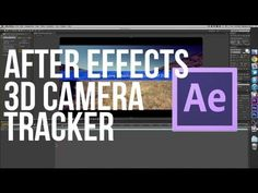 After Effects CS6 3D Camera Tracker - YouTube