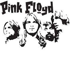 Pink Floyd Coloring Pages Arte Pink Floyd, Bicycle Tattoo, Rock Poster, Arte Tribal, Stencil Art, Stencils, Music Artwork, Silhouette Art, Band Posters
