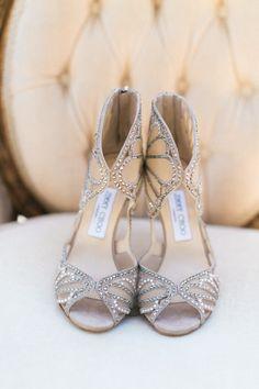 Romantic Garden California Wedding from Jeremy Chou Photography - wedding shoes