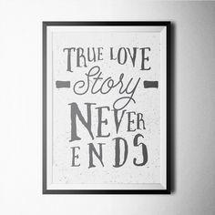 Fancy - True Love Story Print