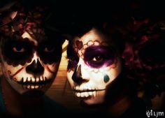 Day of the dead, Dia de los Muertos, Sugar Skulls  #Muertos #Calaveras #sugarSkulls #diadelosmuertos