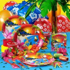 Margaritaville Party stuff