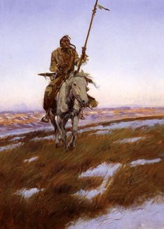 "Charles Marion Russell - Cree Indian   Charles Marion Russell also known as C. M. Russell, Charlie Russell, and ""Kid"" Russell, was an artist of the Old American West. Russell created more than 2,000 paintings of cowboys, Indians, and landscapes set in the Western United States."