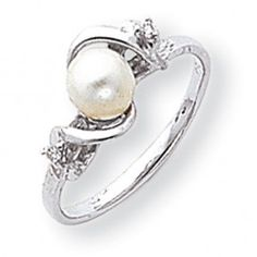 Pearls are lovely offset by small diamonds... I would prefer yellow or rose gold.