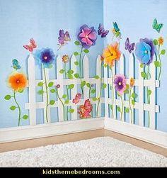 Jardin de princesse interieur. Ajoutez papillions et petites fées vous aurez un sourire.