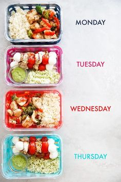 Skip To RecipeToday we are taking minimal ingredients, and making them last! Two awesome dishes made into 8 easy and … Skip To RecipeToday we are taking minimal ingredients, and making them last! Two awesome dishes made into 8 easy and … Best Meal Prep, Lunch Meal Prep, Healthy Meal Prep, Easy Healthy Recipes, Healthy Drinks, Lunch Recipes, Healthy Snacks, Healthy Packed Lunches, Weekly Meal Prep