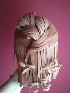 Peinado en Goma EVA.
