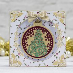 Make #festive shaped cards, ornaments & more with these new Die'sire Classiques and Mixed Media dies from #crafterscompanion